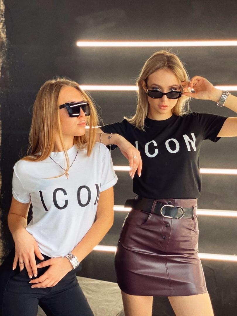 """Футболка """"ICON"""" женская"""