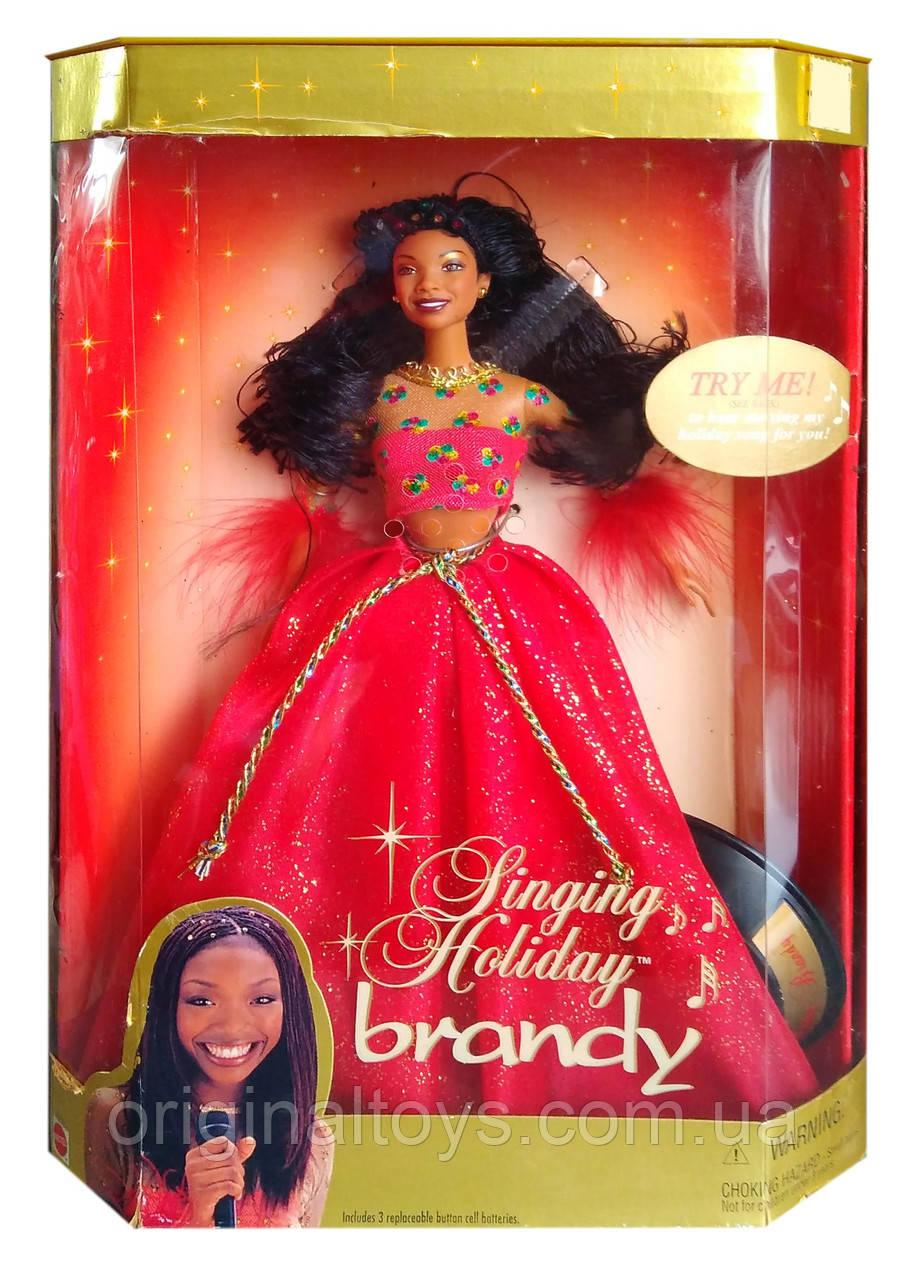 Колекційна лялька Бренді Норвуд Brandy Norwood Singing Holiday 2000 Mattel 27779