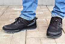 Кроссовки мужские черные демисезонные Львовской фабрики 41 размер, фото 3