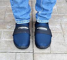 Мокасини чоловічі літні сині, фото 3