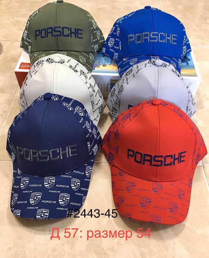 Кепка  для мальчика на лето Porsche р.54