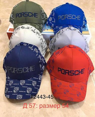 Кепка  для мальчика на лето Porsche р.54, фото 2