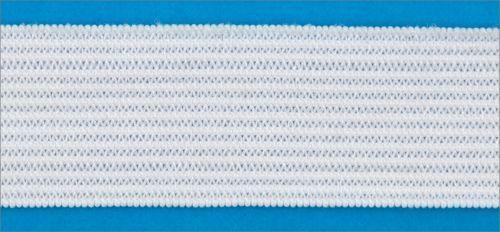 Резинка вязаная 4,2г 025мм цв белый (уп 25м) MH