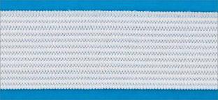 Резинка вязаная 4,2г 030мм цв белый (уп 25м) MH