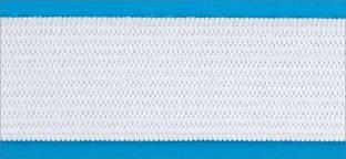 Резинка вязаная 4,2г 040мм цв белый (уп 25м) МН