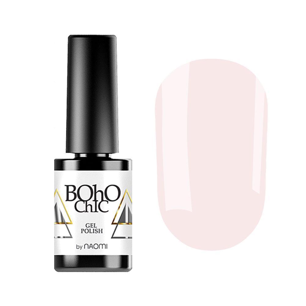 Гель-лак для ногтей  Naomi Boho Chic BC050 Молочный, 6мл
