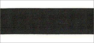 Резинка вязаная 4,2г 030мм цв черный (уп 25м) MH