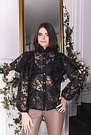Блуза женская с воланами в расцветках 60166, фото 1