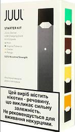 JUUL Starter Full Kit ( 4 pods). Оригинал для Украины. Официальная гарантия 1 год.