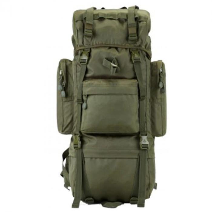 Рюкзак тактический с дождевиком А21 олива на 70 литров 75*32*23