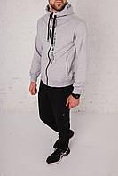 Спортивный костюм мужской весенний серый в стиле Tommy Hilfiger. Кофта + штаны. Спортивний костюм чоловічий