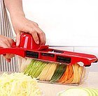 Овощерезка Mandoline Slicer 6 in 1 | Ручная овощерезка с контейнером, фото 3