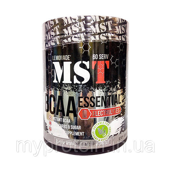 MST	BCAA	BCAA Essential Electrolytes	480 g