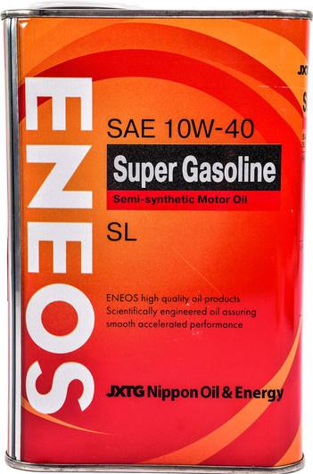 Трансмиссионное масло ENEOS Super Gasoline SL 10W-40 4л