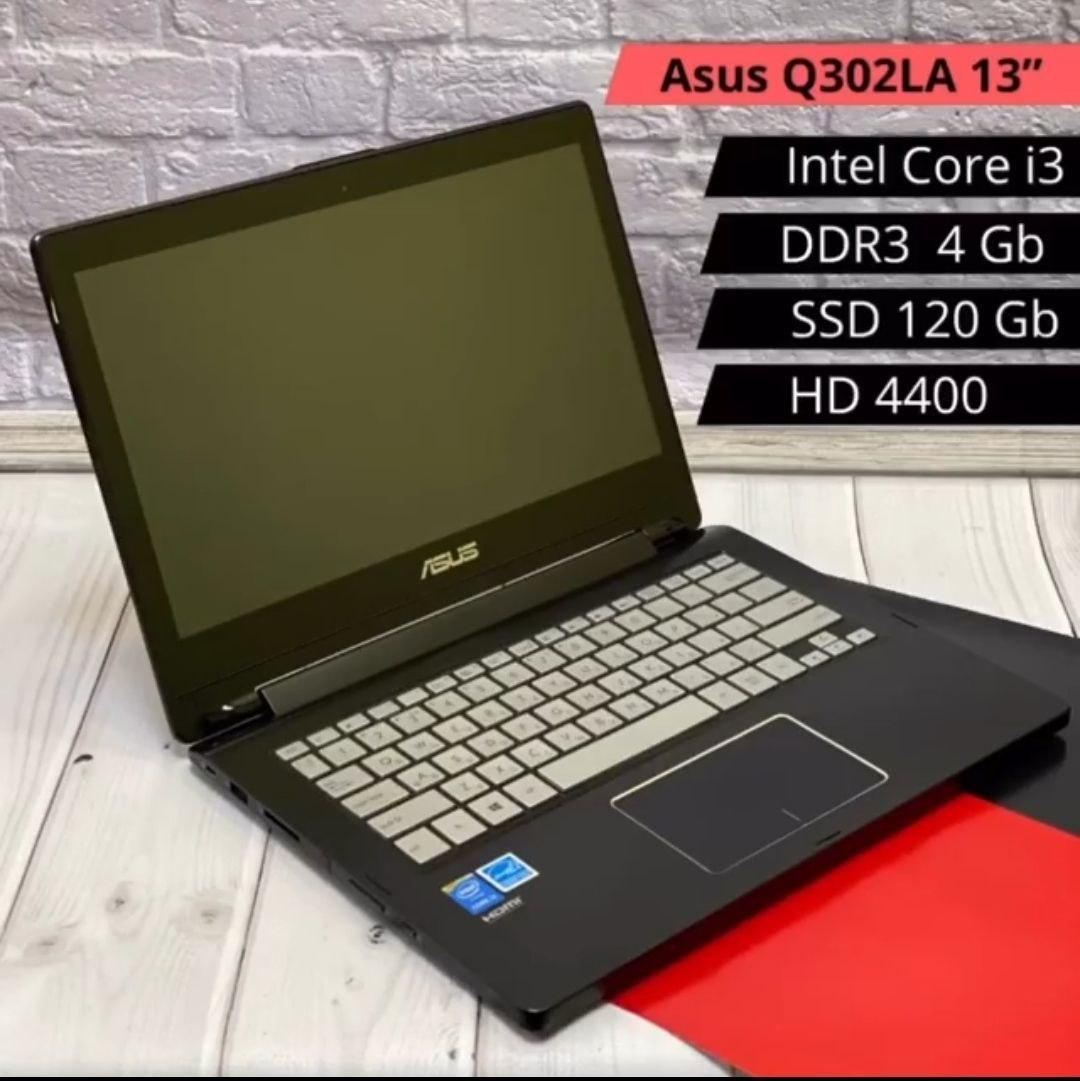 НОУТБУК ASUS Q302LA 13 (i3-4030U / DDR3 4GB / HDD 120GB / HD 4400)