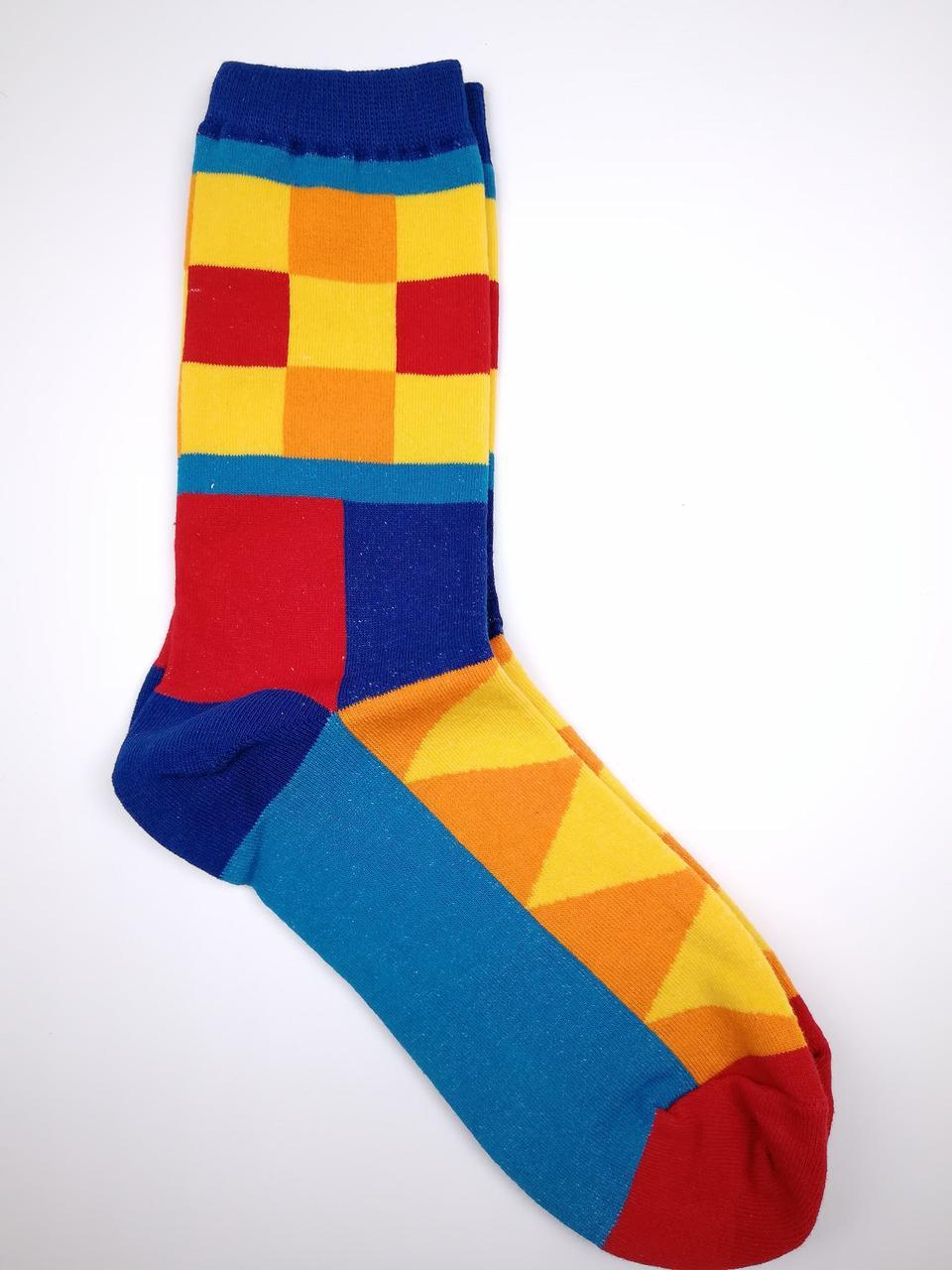 Мужские носки с геометрическим принтом
