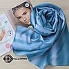 """Женский шифоновый легкий шарф """"Линда"""" (бирюзовый) 105003, фото 2"""