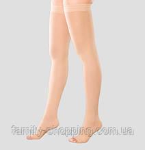 Чулки сильной компрессии с открытым носком Rxfit, модель 202