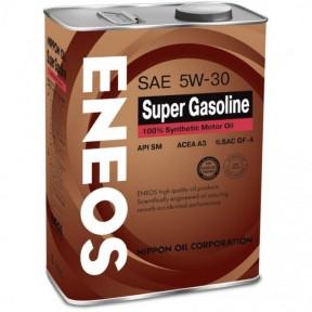 Моторное масло ENEOS Super Gasoline SM 5W-30 950 мл.
