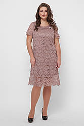 Красивое платье Элен бронза