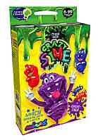 """Набор для опытов """"Crazy Slime - Лизун своими руками"""" (фиолетовый) Dankotoys"""