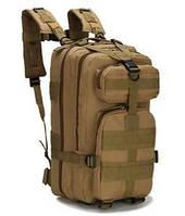 Рюкзак тактический В02 хаки на 23 литра 43*24*22