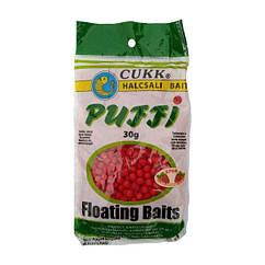 Повітряне тісто Cukk Puffi Strawberry (полуниця) 30г