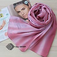 """Женский шифоновый легкий шарф """"Линда"""" (розовый) 105009"""
