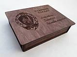 Дерев'яна коробка для фото, фото 3