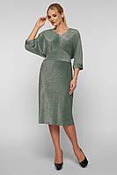 Платье Афина светло-зеленое