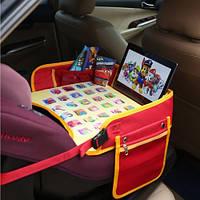 """Детский столик """"Азбука"""" для автокресла и коляски Needful Красный (DS1Ared1)"""