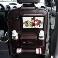 Органайзер на спинку сиденья в автомобиль Needful Коричневый (OA1brown2)