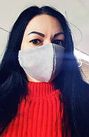 Женская маска-питта двухслойная с хлопковой подкладкой