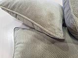 Комплект подушек беж с рубчиком 3шт, фото 2