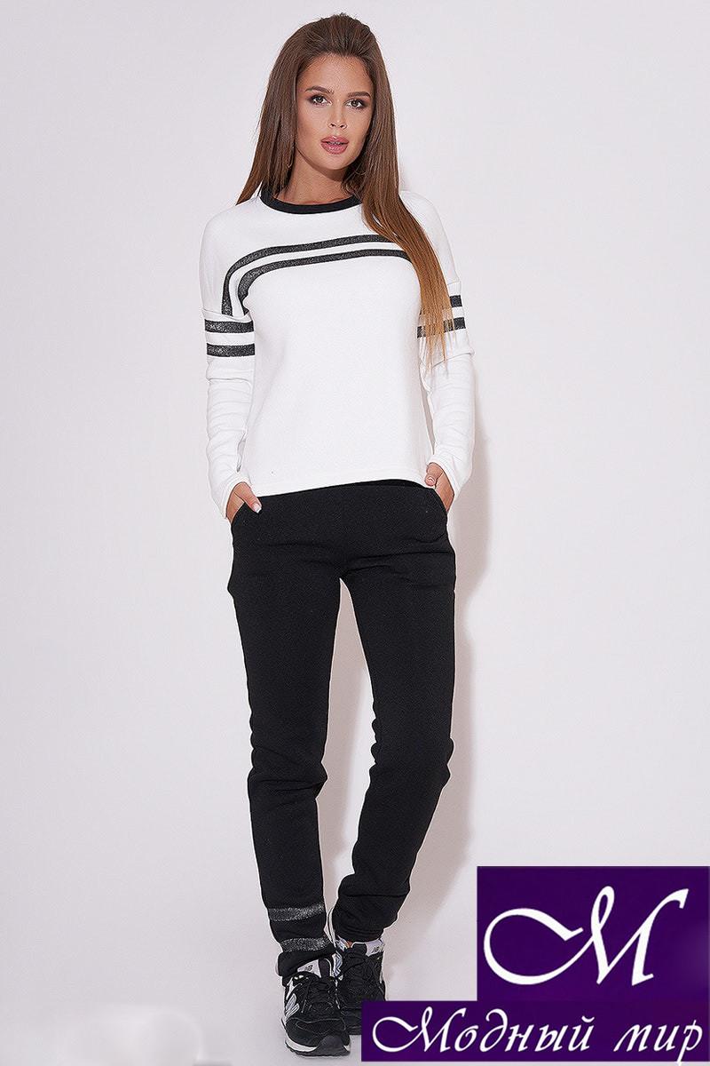 Женский спортивный костюм черно-белый (р. 42, 44, 46) арт. 31-610