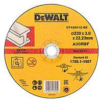 Круг отрезной DeWALT DT42601Z по металлу, 230х2.8х22.23 мм