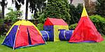 Дитячі ігрові намети, будиночки Ecotoys 5 in 1, з тунелем,вігвам, фото 6