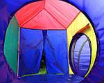 Дитячі ігрові намети, будиночки Ecotoys 5 in 1, з тунелем,вігвам, фото 7