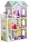 Мега великий ігровий ляльковий будиночок для барбі 4108 Beverly 124 см, фото 2