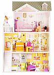 Мега великий ігровий ляльковий будиночок для барбі 4108 Beverly 124 см, фото 3