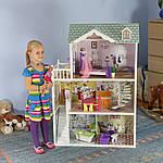 Мега великий ігровий ляльковий будиночок для барбі 4108 Beverly 124 см, фото 5