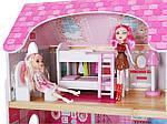 Ігровий ляльковий будиночок Ecotoys 4119 Tima Toys + 2 ляльки, фото 4