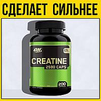 Креатин моногидрат Creatine Caps 200 капсул   optimum nutrition оптимум нутришн в таблетках капс 200 таблеток