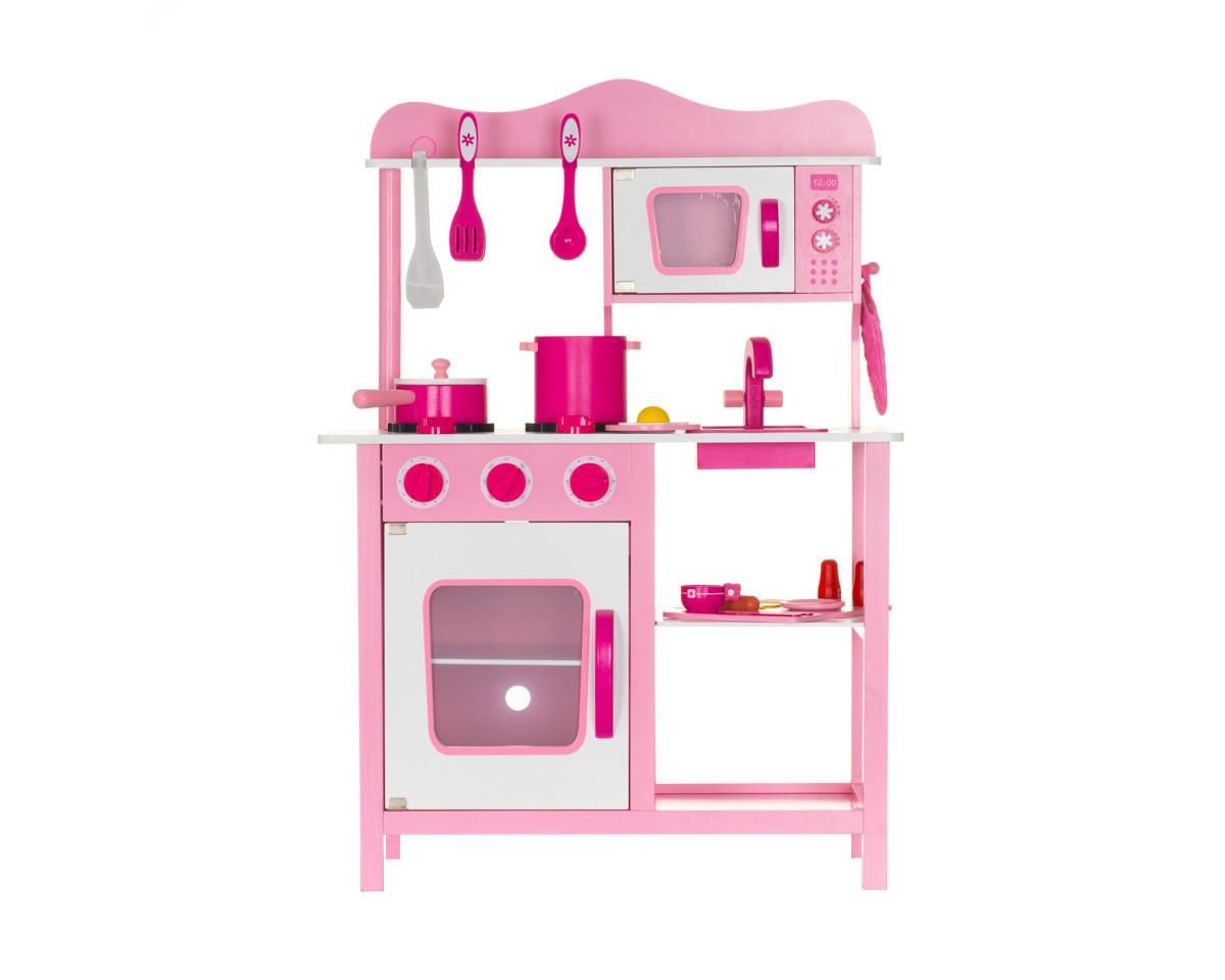 Дерев'яна кухня для дітей Wooden Toys Classic Pink