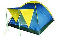 Палатка Presto Monodome 4 клеенные швы, 3000 мм зеленая