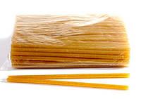 Клей для термопистолета 30 см 0,7 см цветной с глитером Золотой