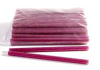 Клей для термопистолета 30 см 1,1 см цветной с глитером Розовый