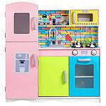 Дерев'яна кухня для дітей Ecotoys TK038 + набір посуду, фото 3