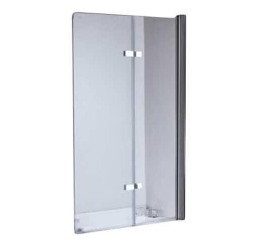 Скляна шторка для ванни Lavado 100х140 см 2 секції