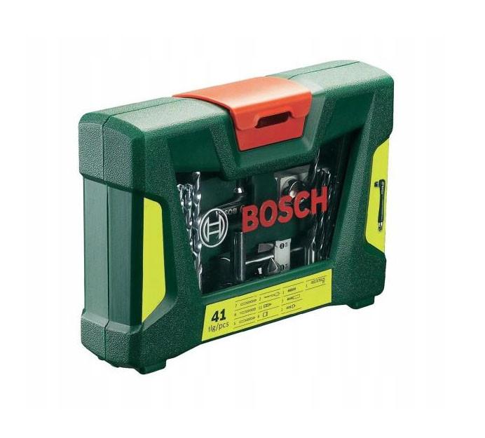 Набор сверл,бит Bosch V-Line 41 елементов,кейс